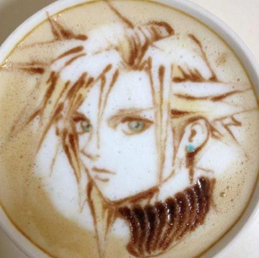Could you bring yourself to drink it?  Cool and Amazing Latte Art Photos