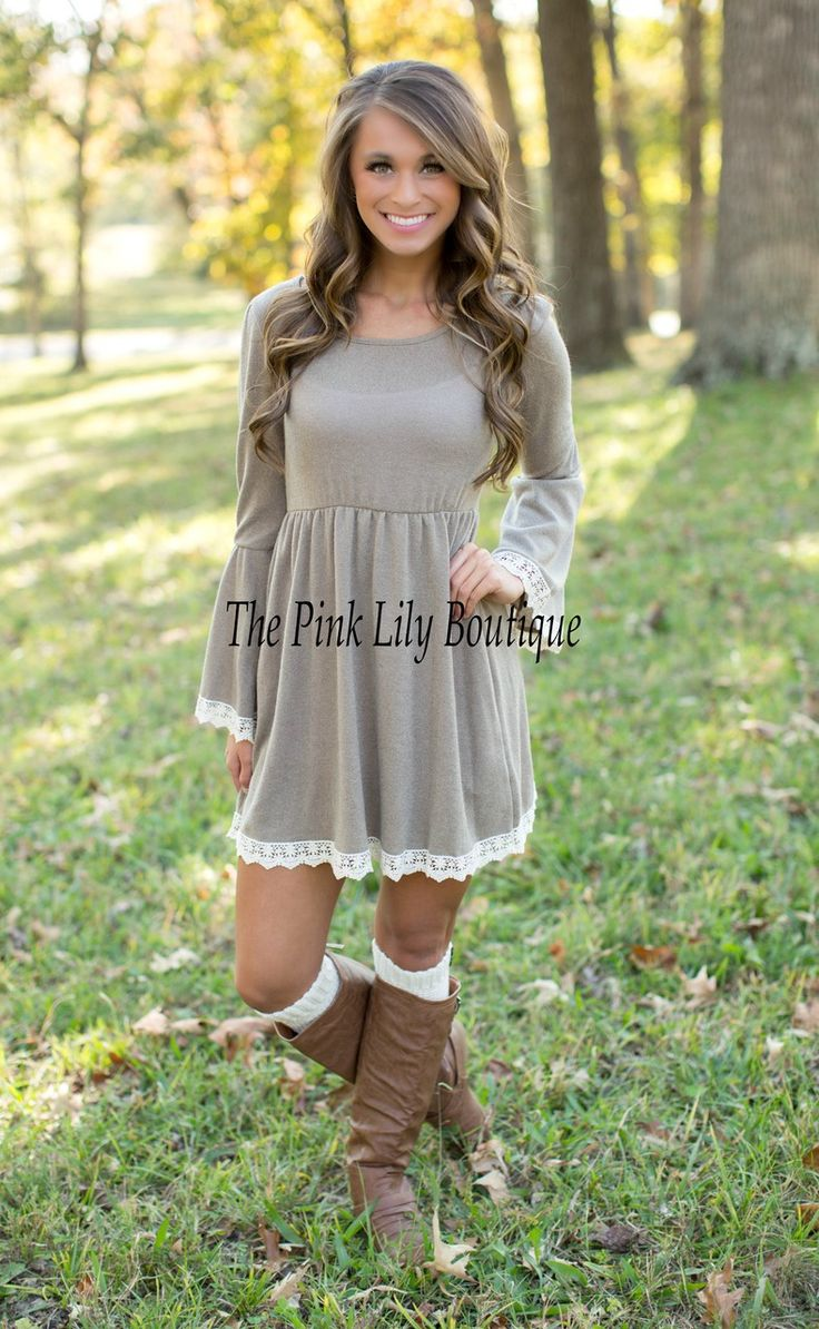 ✨Apply Laurenhrep for a 10% discount at checkout!✨ The Pink Lily Boutique - Just The Sweetest Dress Taupe, $42.00 (http://thepinklilyboutique.com/just-the-sweetest-dress-taupe/)