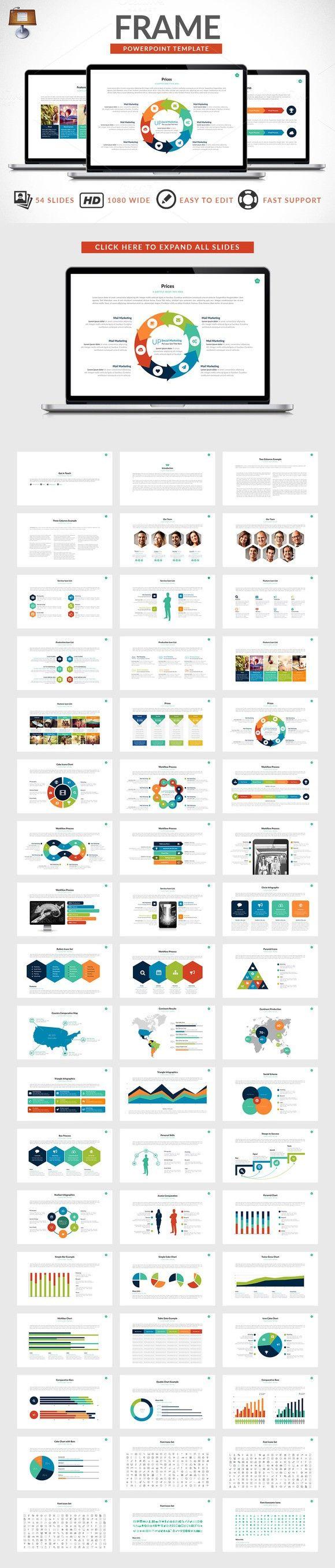Frame   Keynote Presentation. Medical Infographic. $13.00