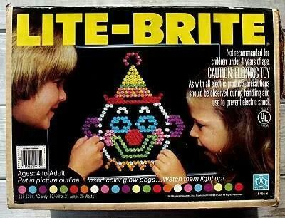 Lite brite! I miss this.