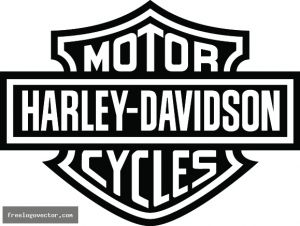 Harley-Davidson Stencil Patterns | harley logo vector – Item 1 | Vector Magz | Free Download Vector ...