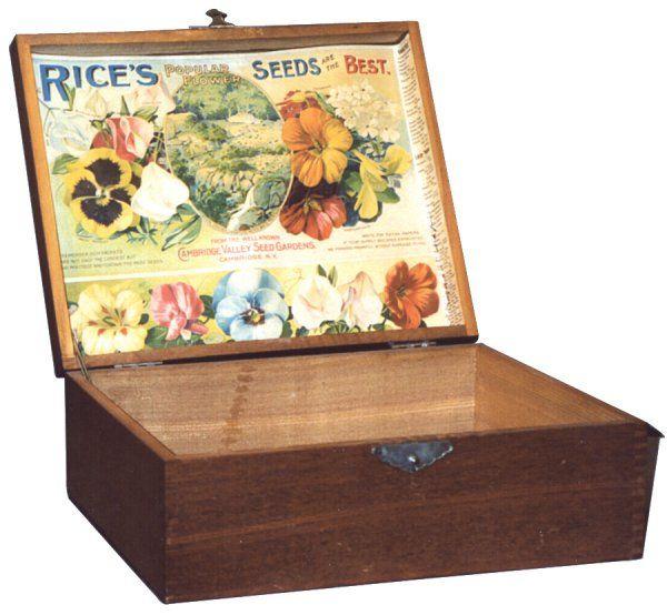 43 Best Mail Order Catalogs Images On Pinterest: 67 Best Vintage Seed Boxes Images On Pinterest