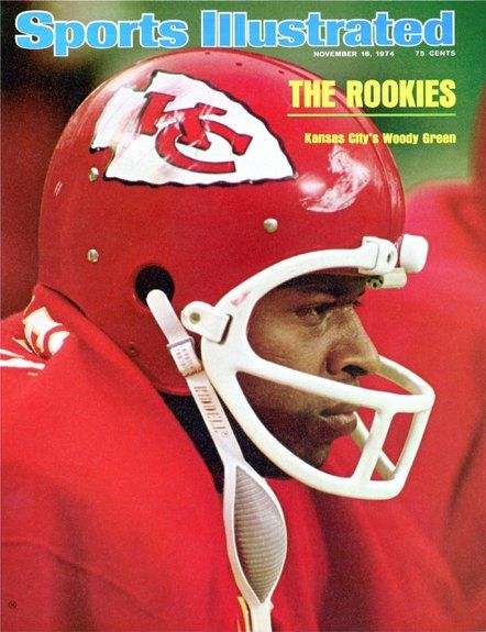 Woody Green of The Chiefs November 18 1974
