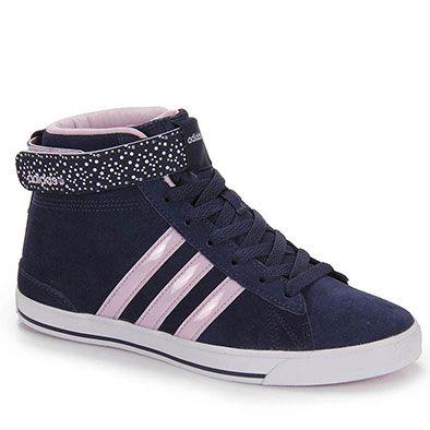 Tênis Casual Feminino Adidas Daily Twist Mid - Marinho