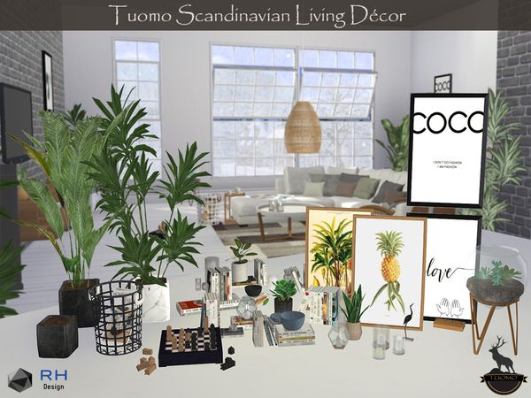 sims 4 cc // custom content decor clutter // the s…