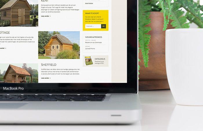 Woodstar - responsive website met beheersysteem | by Skinn Branding Agency