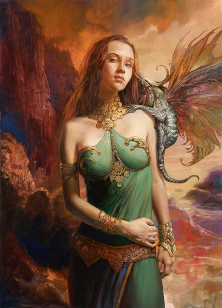 "Julie Bell  Boris Vallejo  (^.^) Thanks, Pinterest Pinners, for stopping by, viewing, re-pinning, & following my boards.  Have a beautiful day! ^..^ and ""Feel free to share on Pinterest ^..^  #unocollectibles, #comics"