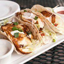 Receta de Tacos de Pescado Crujiente con Salsa Especial