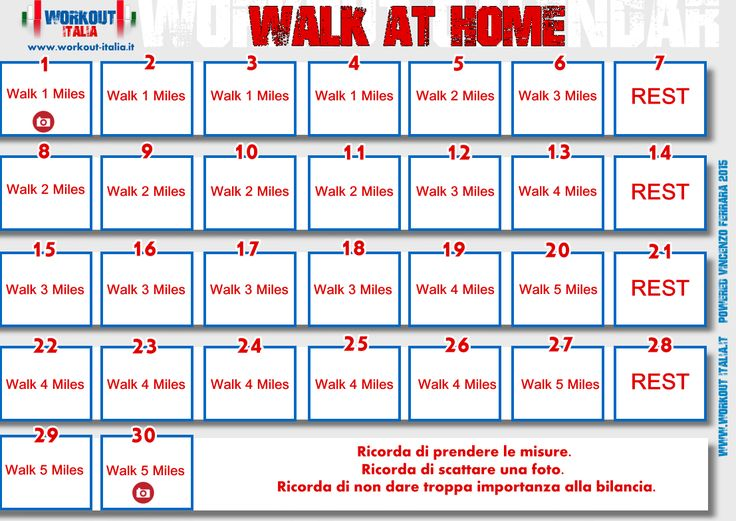 Walk at home - Leslie Workout - Workout-Italia