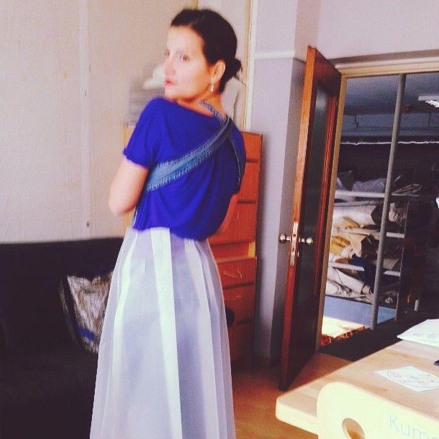 Dacron skirt fitting