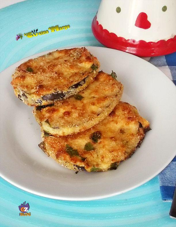 Cotolette di melanzane-ricetta al forno