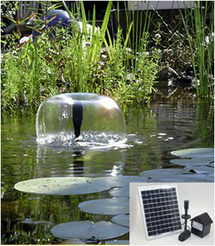 10 Watt Solar Powered Water Pump with Battery $124.95