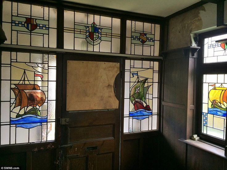 Timewarp home that hasn 39 t been touched since the 1930s for 1930s stained glass window designs