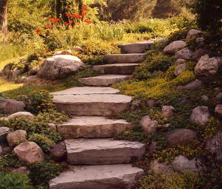 Best 25 Garden Steps Ideas On Pinterest: 11 Best Landscape: Informal Stairs Images On Pinterest