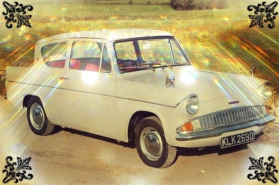 1966 Ford Anglia, great little Car.