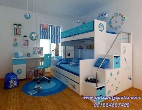 Set Tempat Tidur Tingkat Modern