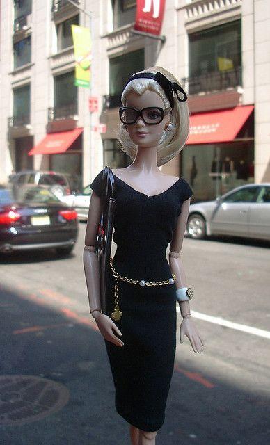 Barbie visite New York