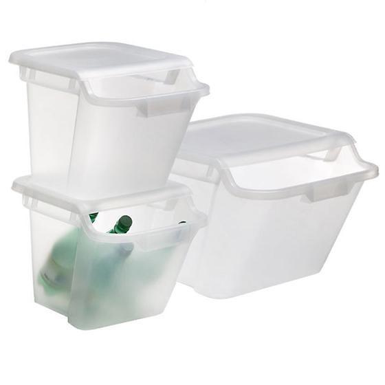Stacking Recycling & Storage Bins - $10/$15