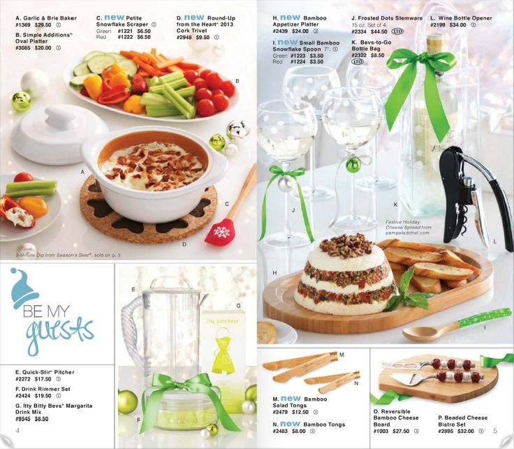 Free Kitchen Catalogs: 17 Best Images About Pampered Chef Christmas Party Ideas