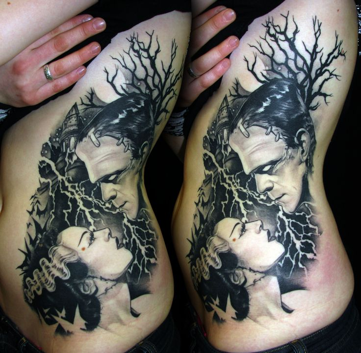 BEST TATTOO EVER! frankenstein tattoo | bbc1ac_3efca784d11e630401debf71b00d0b42.jpg
