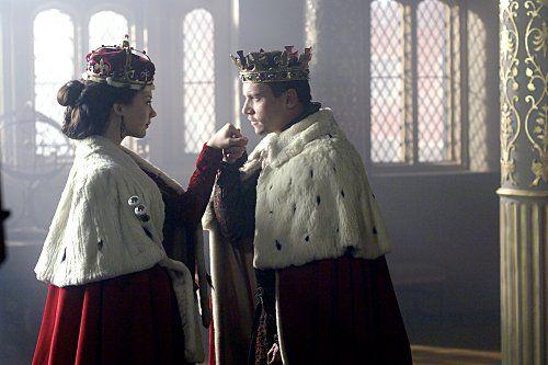 The Tudors, Tears of Blood Names: Jonathan Rhys Meyers, Natalie Dormer Characters: Anne Boleyn, Anne Boleyn Still of Jonathan Rhys Meyers and Natalie Dormer in The Tudors