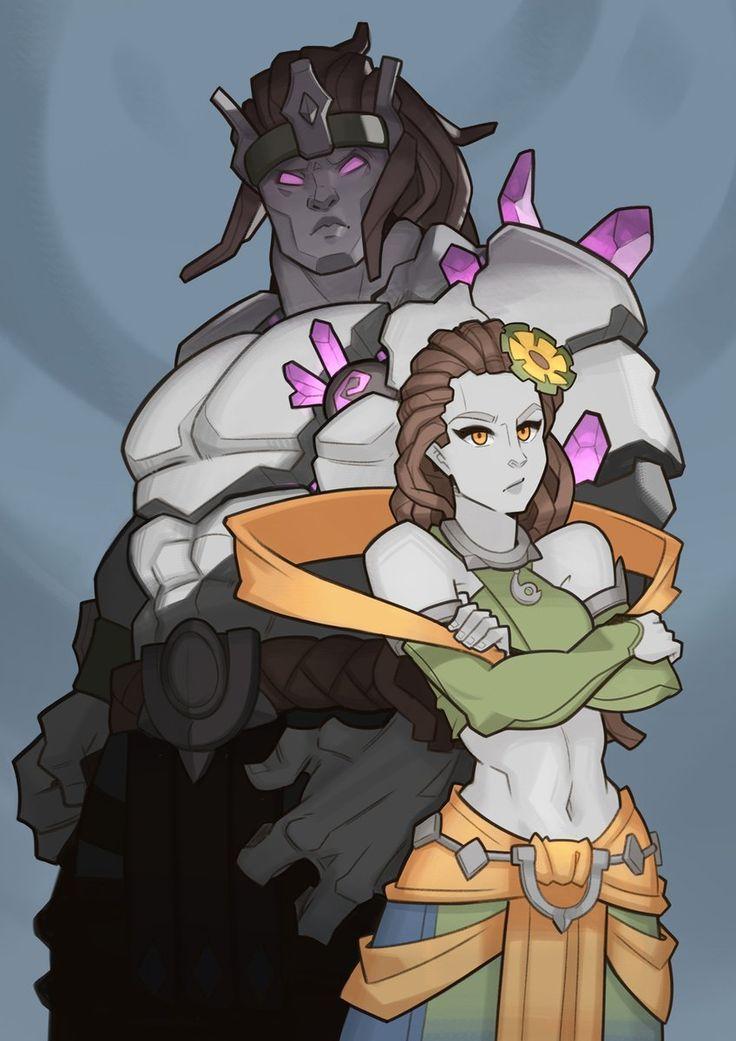 The Stone Couple by Splashbrush