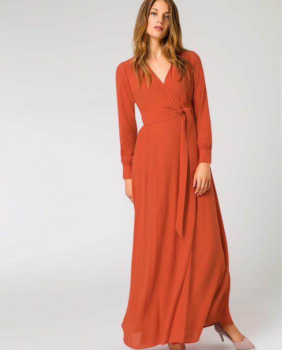 info for a0c36 66374 Wrap Evening Dress | Fashion | Wickelkleid lang, Wickelkleid ...
