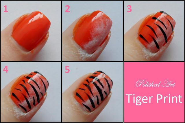 tiger-print-nail-art-step-by-step-picture-tutorial @kennedy zellmer we should do this!!!