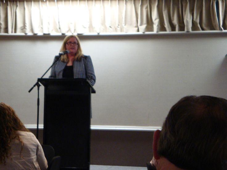 #RWNZ2014 Awards Dinner: Keynote speaker, author Marie Force