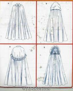 This is a very thorough tutorial which shows you how to make a hooded cloak or cape without a pattern. Description from matermokd.com. I searched for this on bing.com/images
