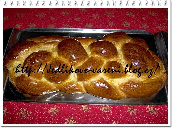 Jedlíkovo vaření: Cukroví - tradiční vánoční pečivo - vánočka #xmas #christmas #baking #cukrovi #vanoce #vanocka