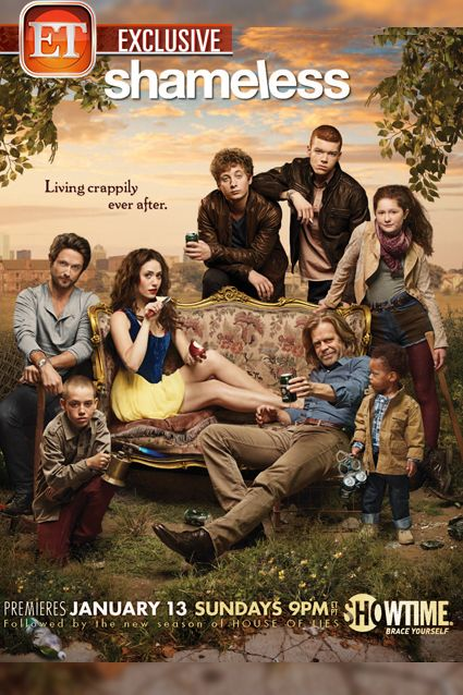 """Shameless"" Season Three >> This poster rocks! Can't wait for the new season :-D"