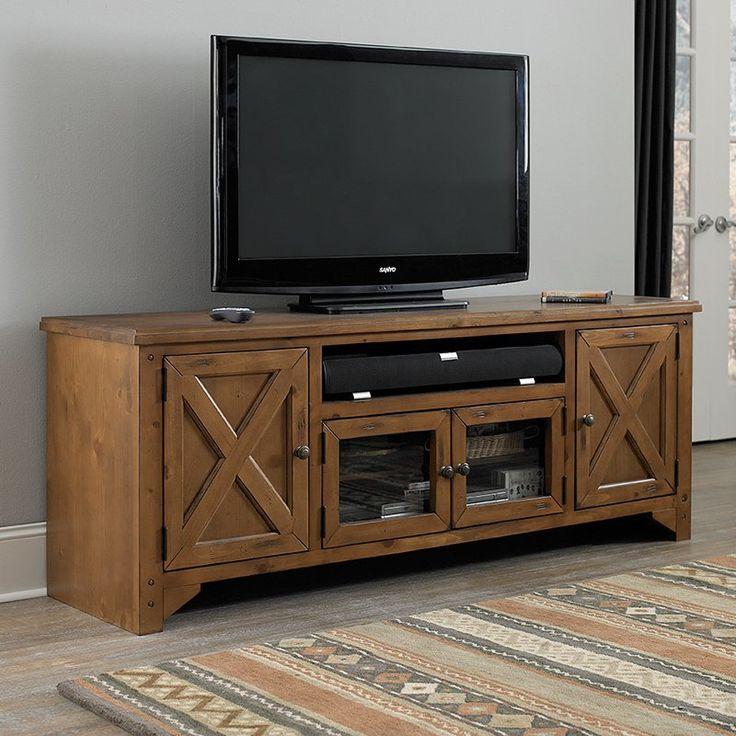Progressive Furniture Rialto Tv Console Rustic Pine P755 74 Tv Stand Pinterest Tv