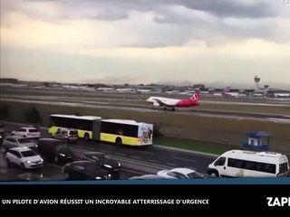 Turquie : Un avion est forcé d'atterrir d'urgence, une femme filme les coulisses terrifiantes (vidéo)