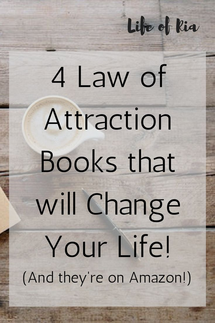 The Best Law of Attraction Books on Amazon Right Now