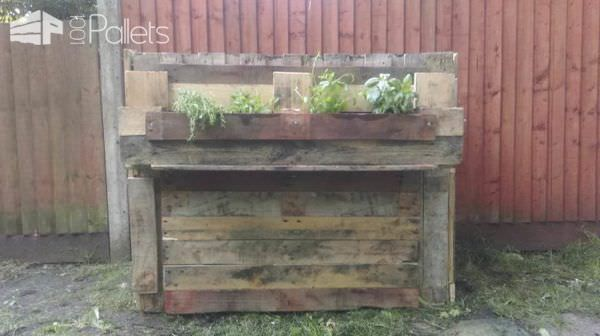 Rustic Compost Bin