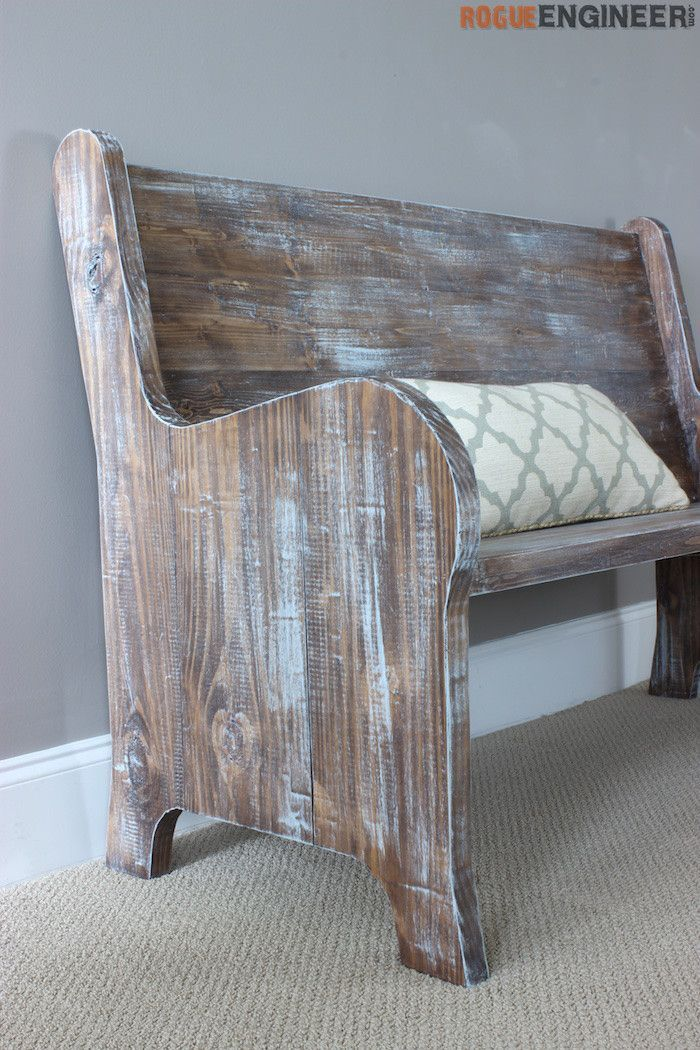 How To Build A Church Pew Free Diy Plans A Well