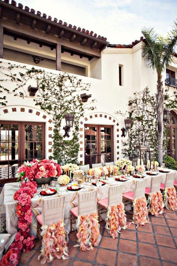 Coral Wedding Inspiration.