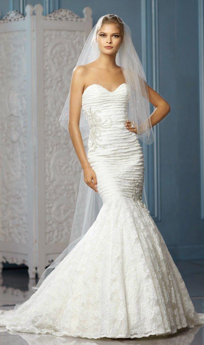 Maravillosos vestidos de novia | Colección Wtoo Moda Actual