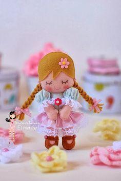 Куколки из фетра - Клуб рукоделия «Золотые ручки»