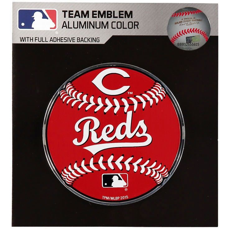Cincinnati Reds Baseball Emblem Decal - $7.99
