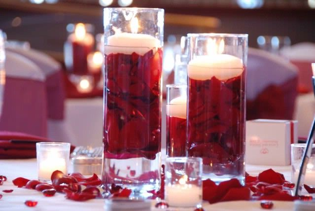 Pinterest the world s catalog of ideas - Red centerpieces for tables ...