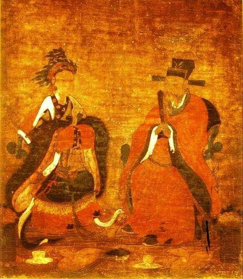 종묘 내 고려 공민왕 내외 영정, 조선 건국후 이태조가 조선건국을 정당화시킬 목적으로 고려 공민왕 내외의 영정을 그려 조선의 종묘에 봉안하였다. 이는 고려는 공민왕에서 끝났다는 의미이기도 하다. (1392)
