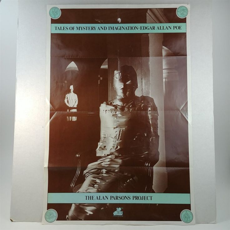 Promo Poster The Alan Parsons Project Tales Mystery Imagination