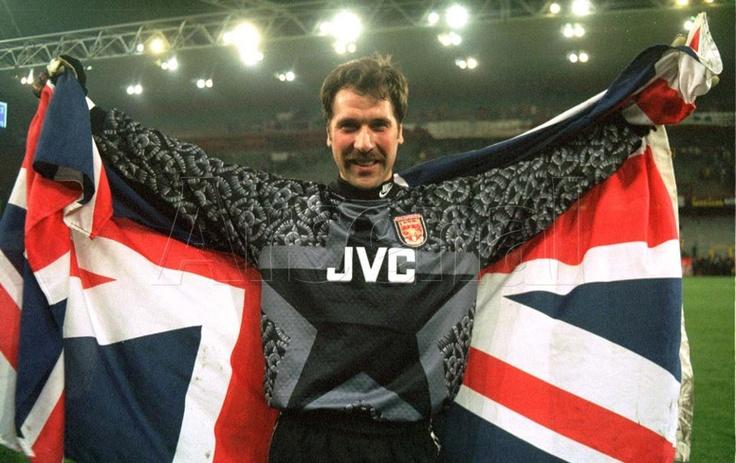 David Seaman #Arsenal #Goalkeeper #Gunners