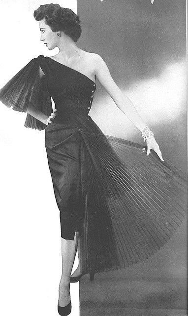 1950's Cocktail Dress.                                                       …