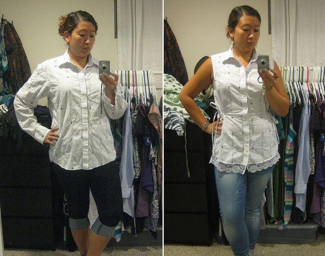 Old mens shirt