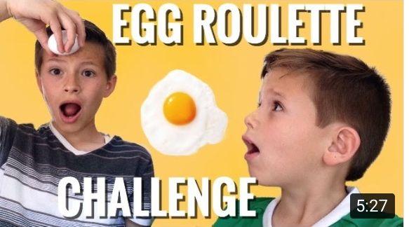 EGG ROULETTE Challenge video de YouTube Francisco28 oy