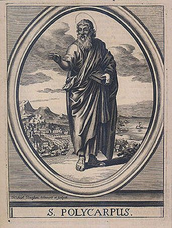 Did you know that the Apostles had disciples? St. Polycarp was a disciple of St. John the Apostle. When St Polycarp was 40 yrs. old he became the Bishop of Smyrna. Polycarp was martyr (69-155AD) Happy Feast Day 2/23