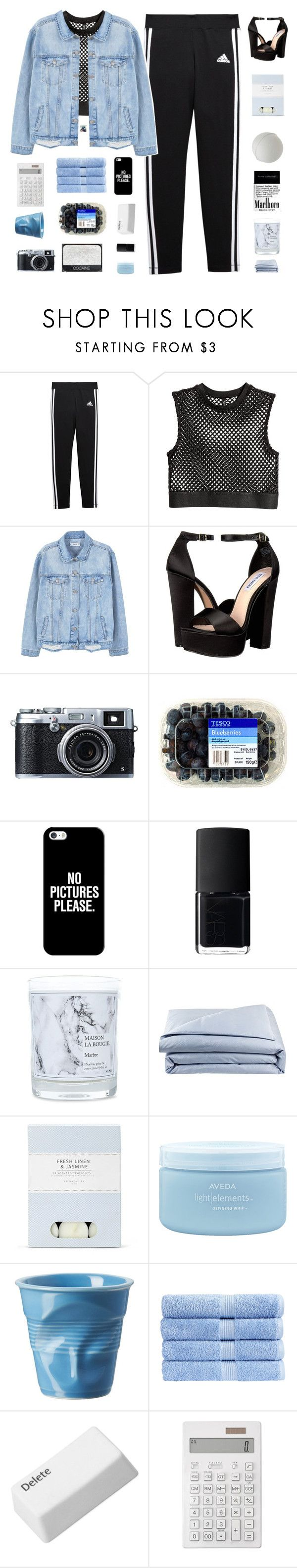 """♡ fifteen years old and smoking hand-rolled cigarettes"" by deli-lemonade ❤ liked on Polyvore featuring adidas, MANGO, Steve Madden, Fujifilm, Casetify, NARS Cosmetics, Maison La Bougie, Frette, Laura Ashley and Aveda"